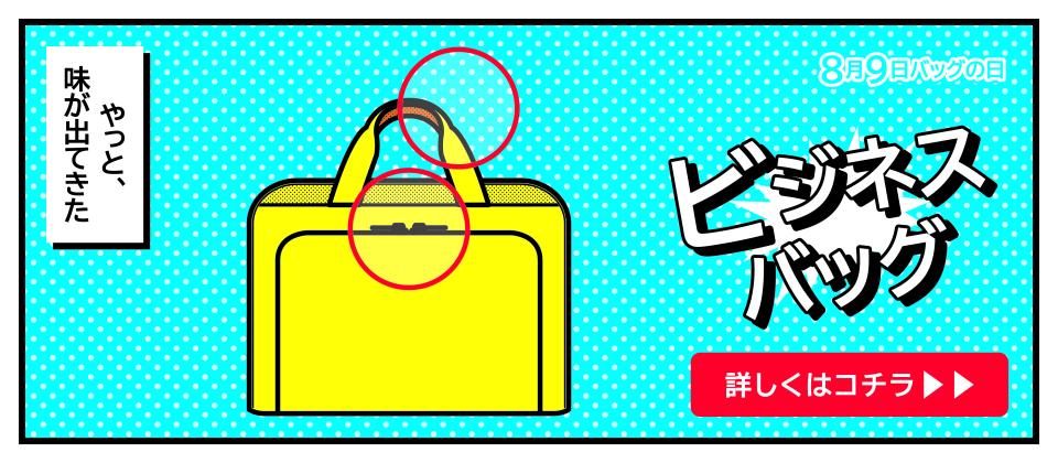 バッグの日 ビジネスバッグ
